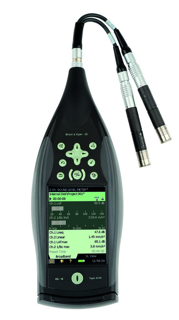 2-Channel Sound Level Meter Type 2270-S-C